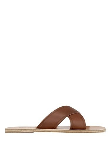 Ancient Greek Sandals Terlik Kahve